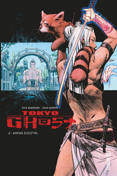 Couverture Tokyo ghost tome 2