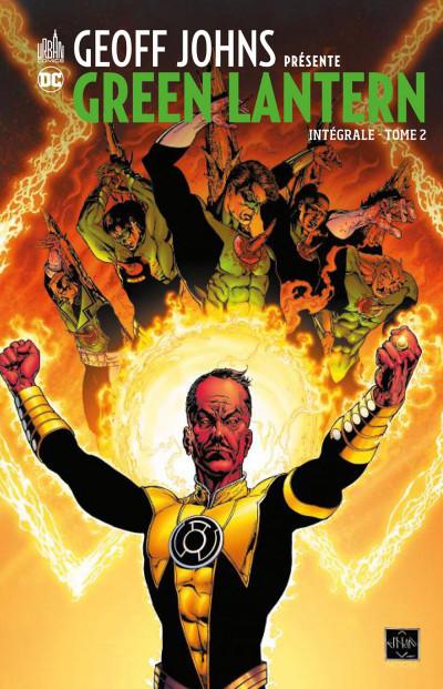 Couverture Geoff Johns présente Green Lantern - intégrale tome 2