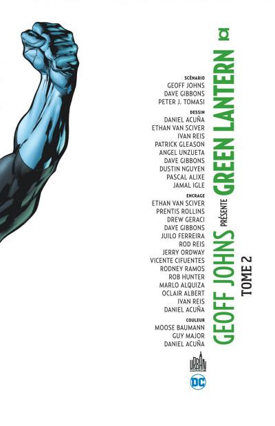 Page 3 Geoff Johns présente Green Lantern - intégrale tome 2