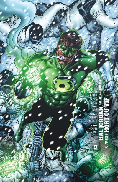 Page 8 Geoff Johns présente Green Lantern - intégrale tome 2