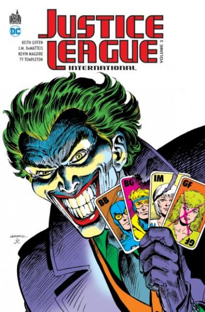 Couverture Justice League international tome 2