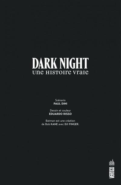 Page 3 Dark night - Une histoire vraie