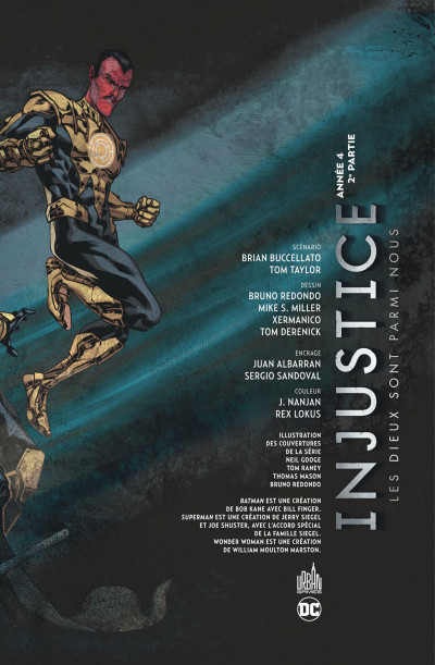 Page 2 Injustice tome 8
