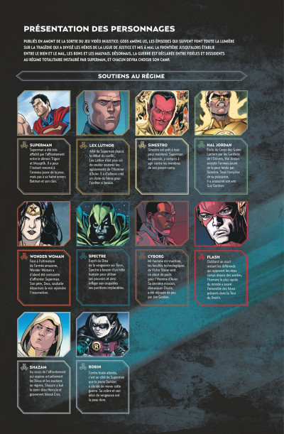Page 3 Injustice tome 8