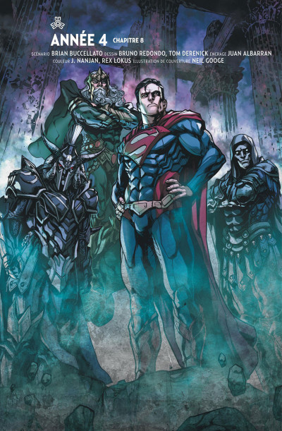 Page 5 Injustice tome 8