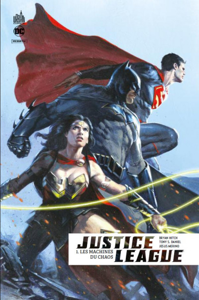 Couverture Justice league rebirth tome 1