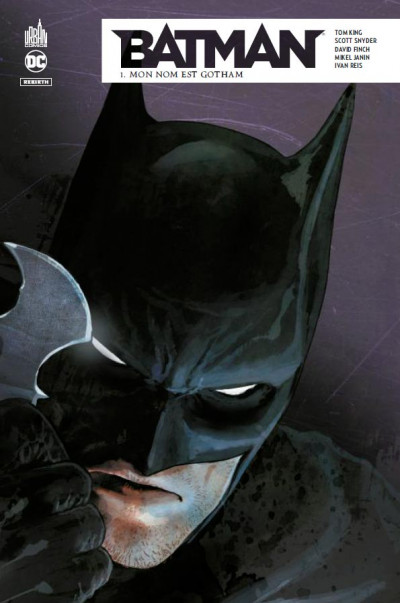 Couverture Batman rebirth tome 1