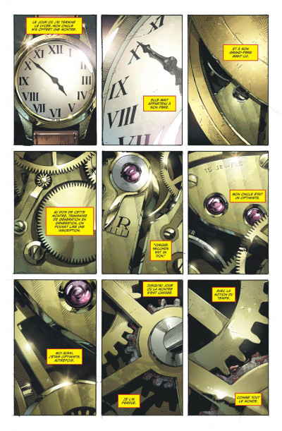 Page 1 DC univers rebirth