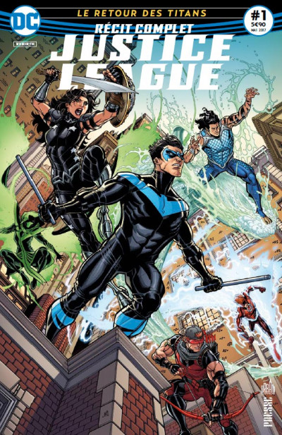 Couverture Justice league récit complet tome 1