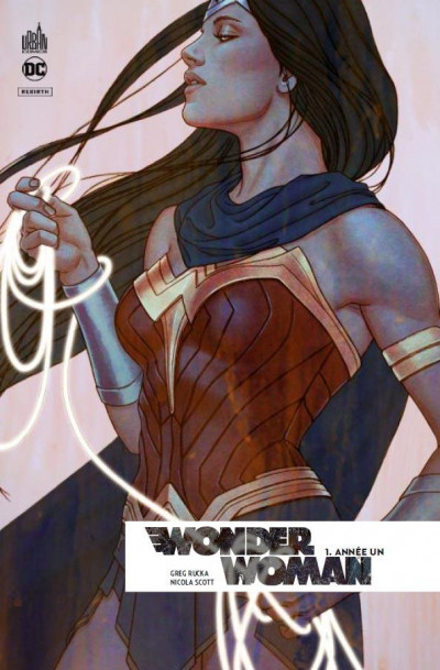 Couverture Wonder Woman rebirth tome 1