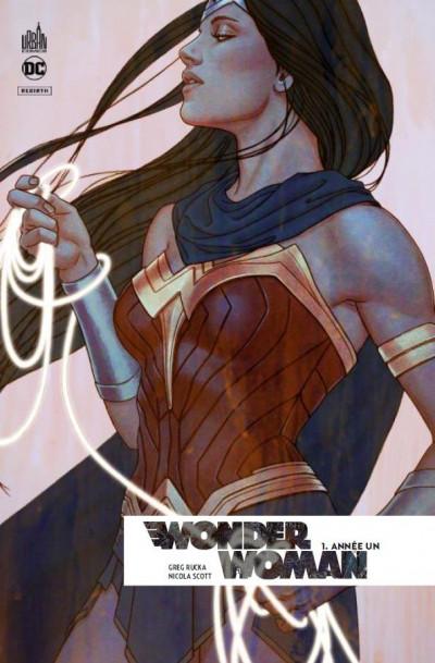 Couverture Wonder Woman rebirth tome 1