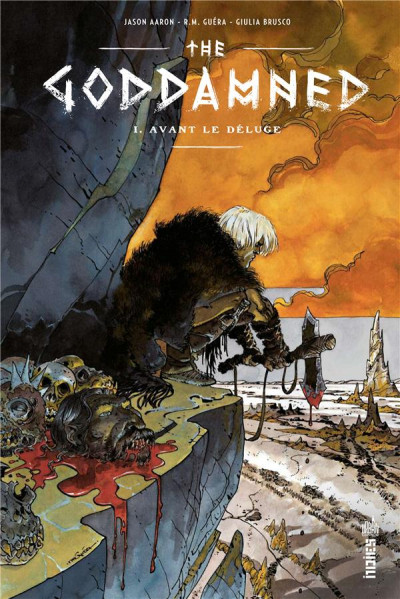 Couverture The goddamned tome 1