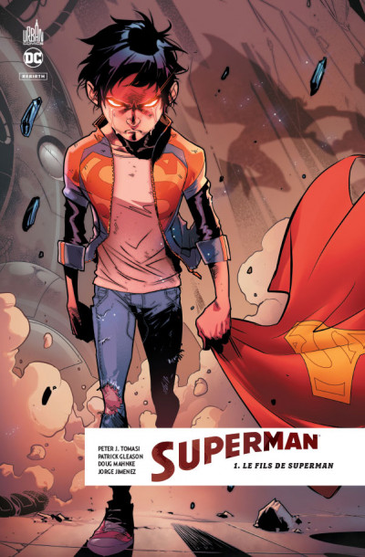 Couverture Superman rebirth tome 1