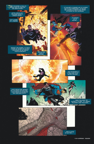 Page 1 Superman rebirth tome 1