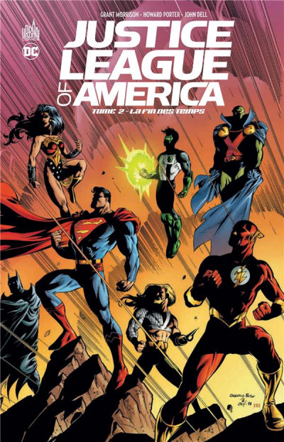 Couverture Justice league of america tome 2