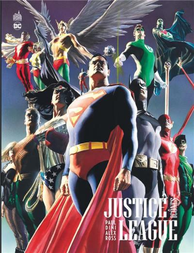 Couverture Justice League - Icônes