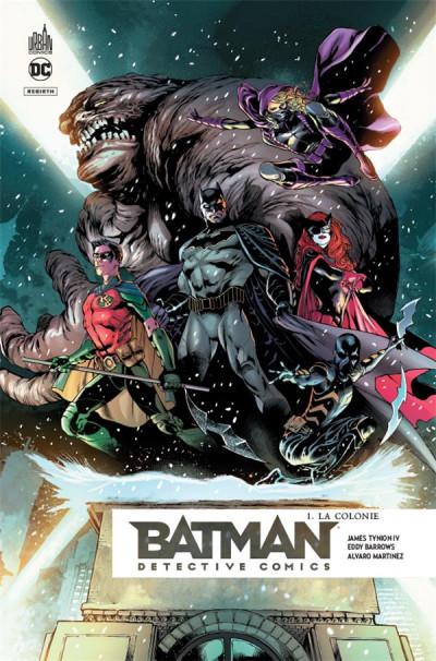 Couverture Batman detective comics tome 1