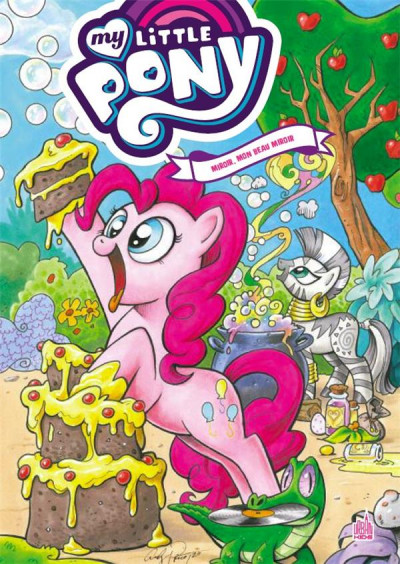 Couverture My little pony - intégrale tome 3