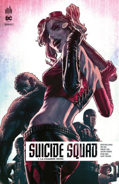 Couverture Suicide squad rebirth tome 1