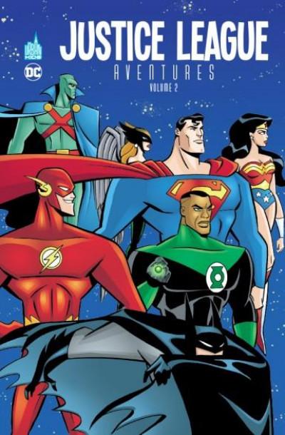 Couverture Justice League aventures tome 2