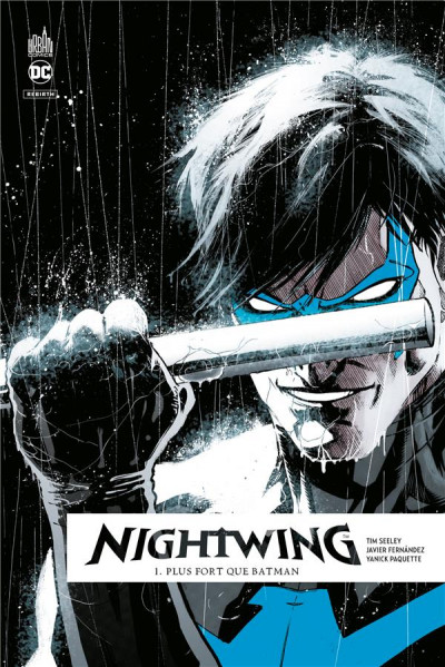 Couverture Nightwing rebirth tome 1