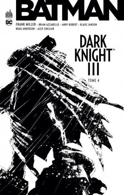 Couverture Batman dark knight III tome 4