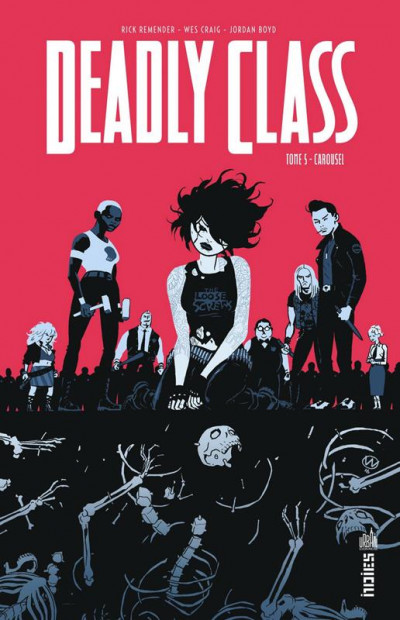 Couverture Deadly class tome 5