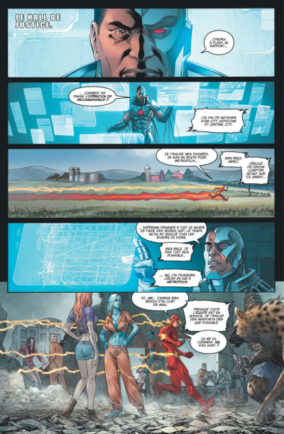 Page 2 Injustice tome 9
