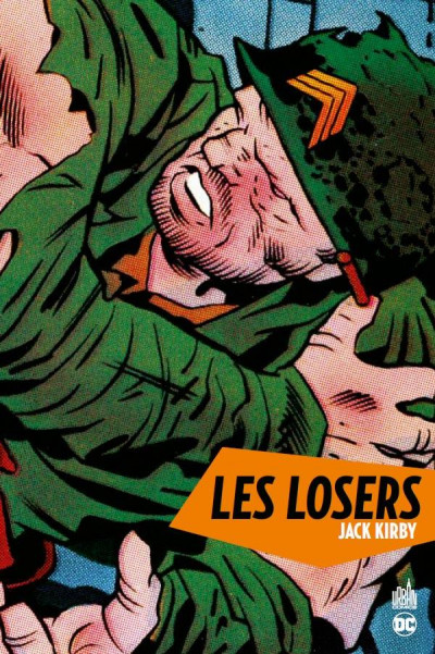Couverture Les losers par Jack Kirby