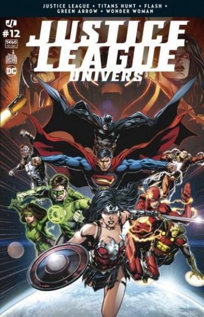 Couverture Justice League univers tome 12