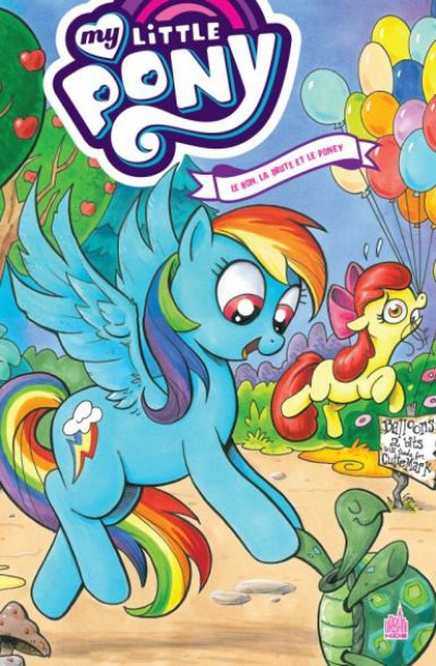 Couverture My little pony tome 4