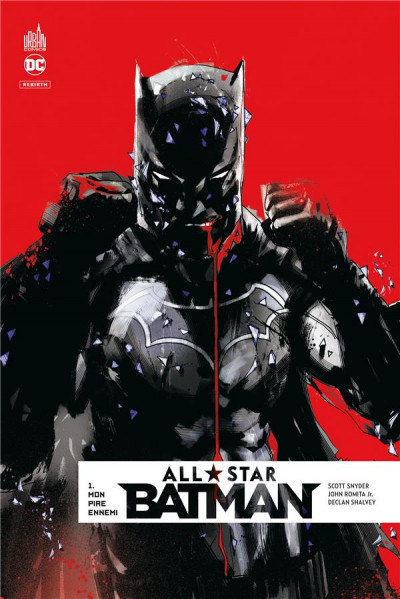 Couverture All star Batman tome 1