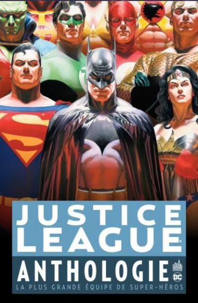 Couverture Justice league anthologie