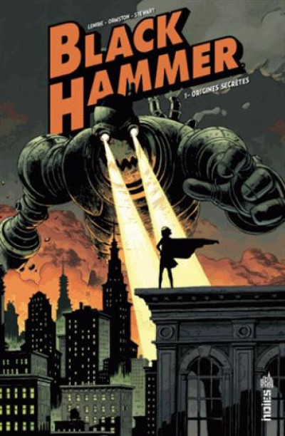 Couverture Black hammer tome 1
