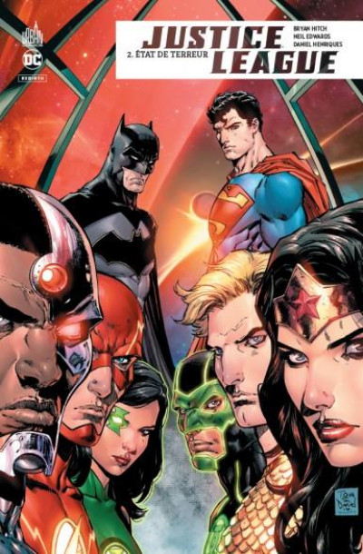 Couverture Justice league rebirth tome 2