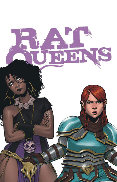Page 2 Rat queens tome 2