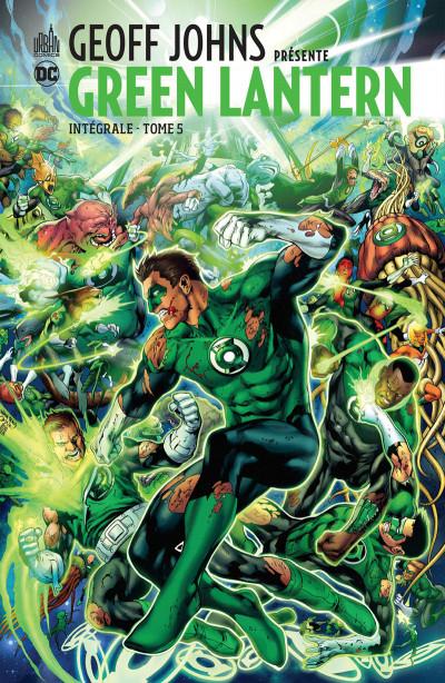 Couverture Geoff Johns présente Green Lantern - intégrale tome 5