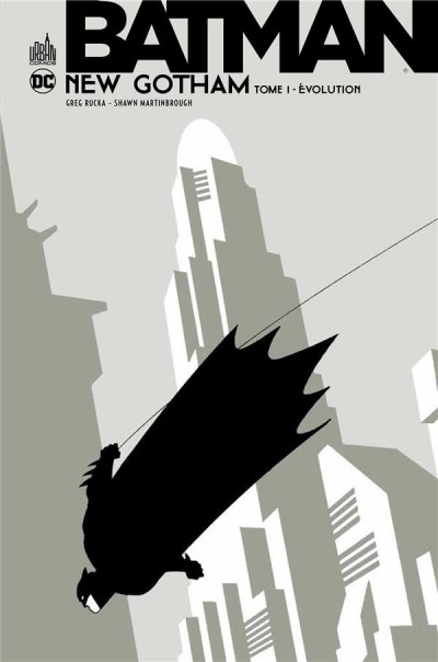 Couverture Batman new Gotham tome 1