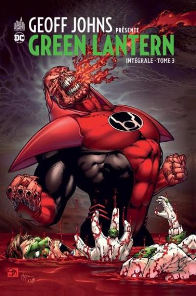 Couverture Geoff Johns présente Green lantern - intégrale tome 3