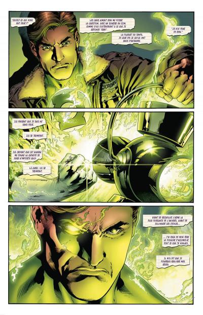 Page 0 Geoff Johns présente Green lantern - intégrale tome 3