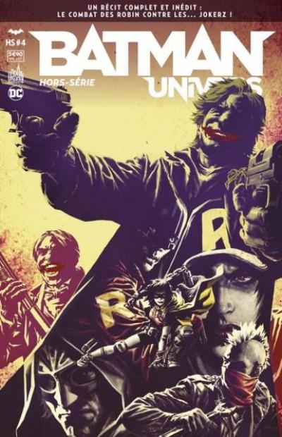 Couverture Batman univers HS tome 4