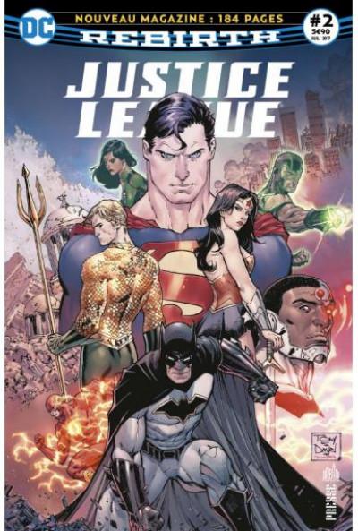 Couverture Justice league rebirth tome 2