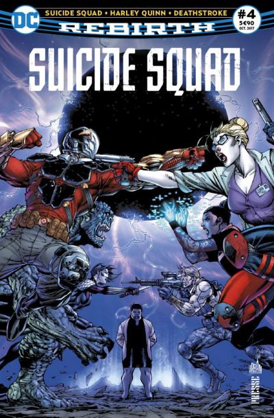 Couverture Suicide squad rebirth tome 4
