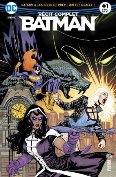 Couverture Batman récit complet tome 1
