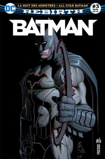 Couverture Batman rebirth tome 3