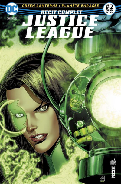 Couverture Justice league récit complet tome 2