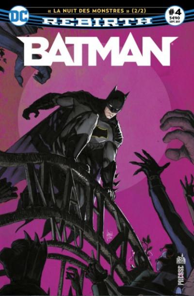 Couverture Batman rebirth tome 4