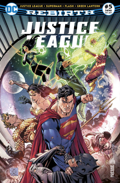 Couverture Justice league rebirth tome 5