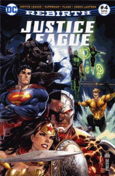 Couverture Justice league rebirth tome 4