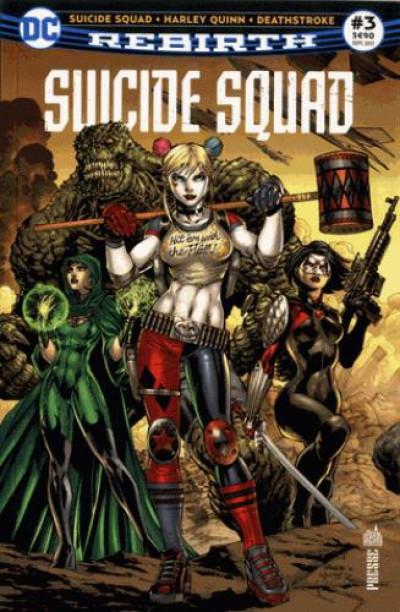 Couverture Suicide squad rebirth tome 3